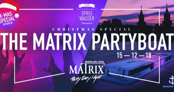 The Matrix Partyboat - Christmas Special
